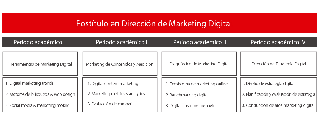 Postítulo en Dirección de Marketing Digital
